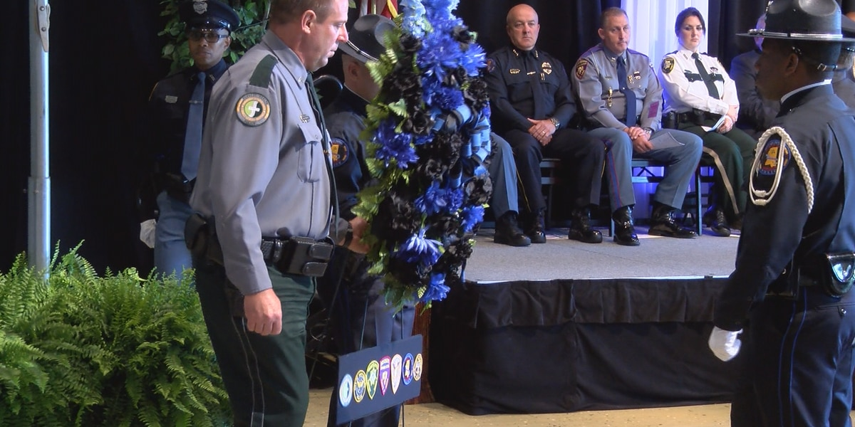 Fallen officers honored at annual Hattiesburg Police Memorial