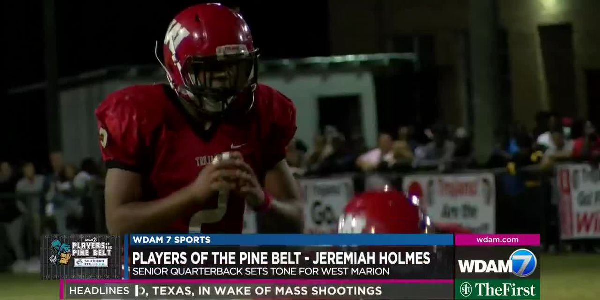 Players of the Pine Belt: Holmes to lead West Marion
