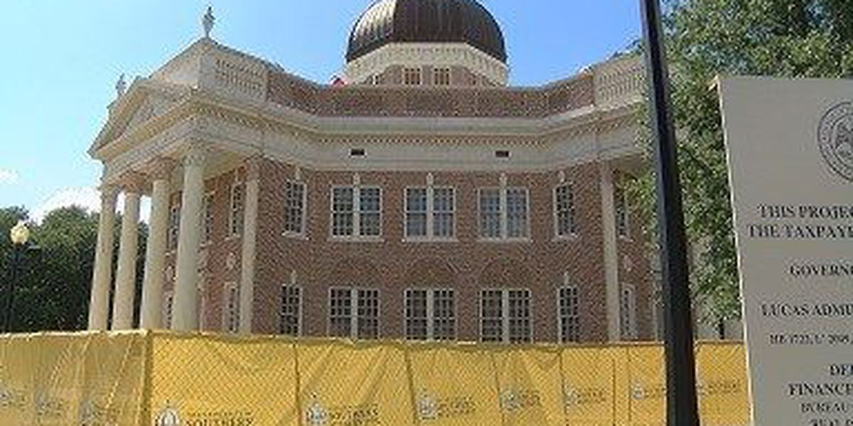 Work on USM Administration Building behind schedule, should be finished in October