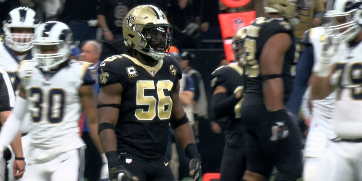 Saints linebacker Demario Davis hosts try-outs for new 7-on-7 travel football team