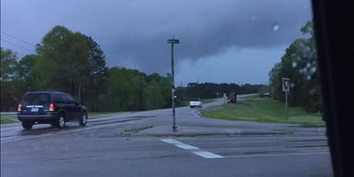 Storm damage reported in the Pine Belt