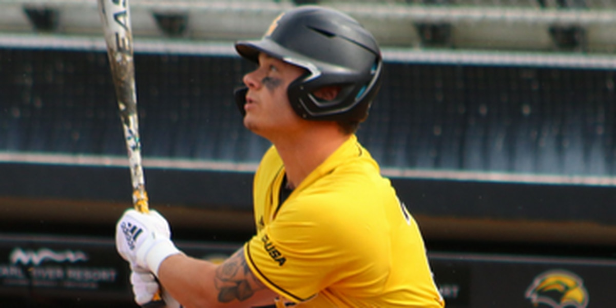 USM pockets baseball series with Rice, grounds Owls 8-1 Sunday