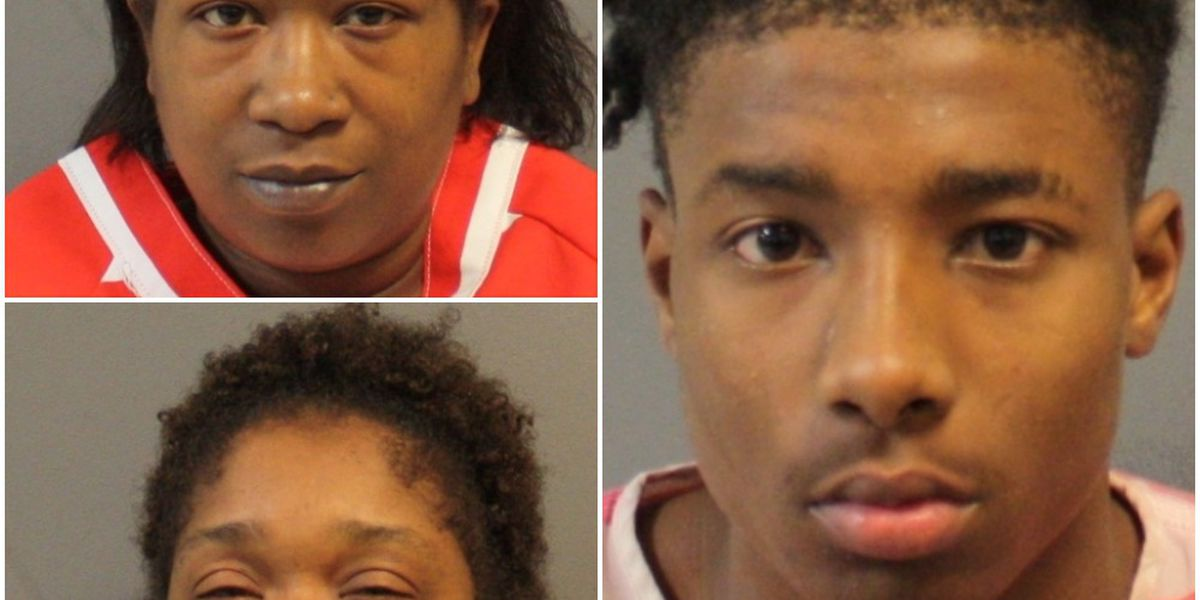 3 charged in Dabbs Street shooting investigation; 4 wanted for questioning