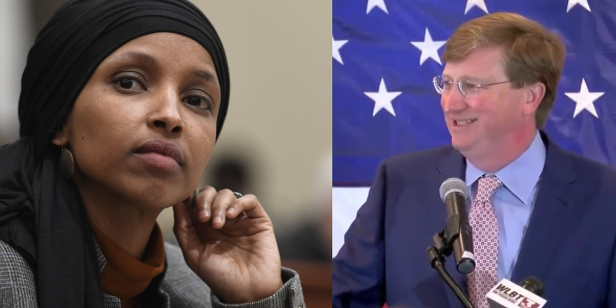 Lt. Governor Tate Reeves spars with MN Congresswoman Ilhan Omar on Twitter