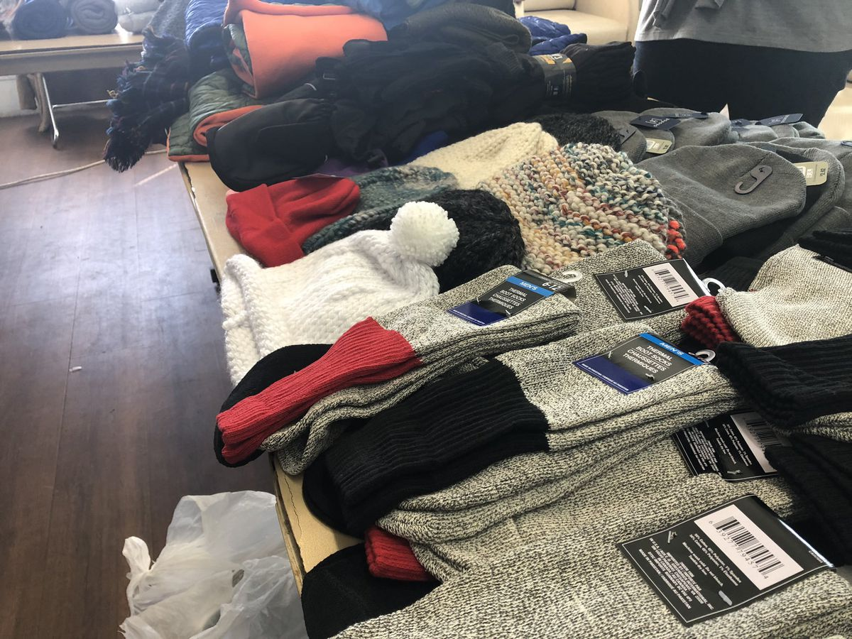 Fieldhouse and local shelters help homeless brace for cold