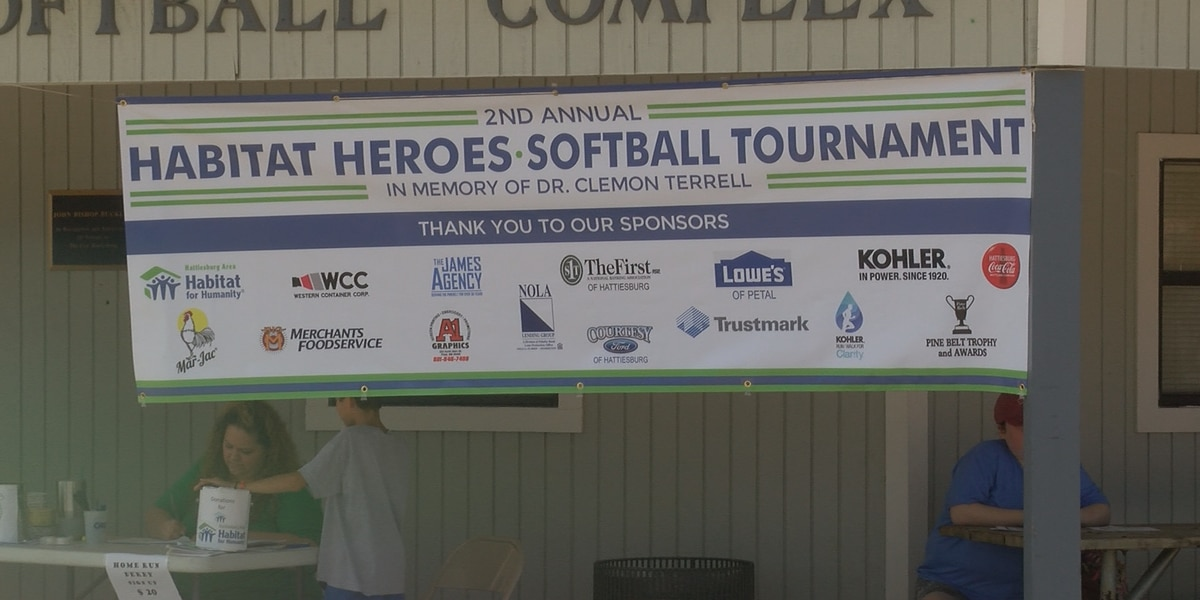 Softball tourney raises $5K for Hattiesburg Habitat for Humanity