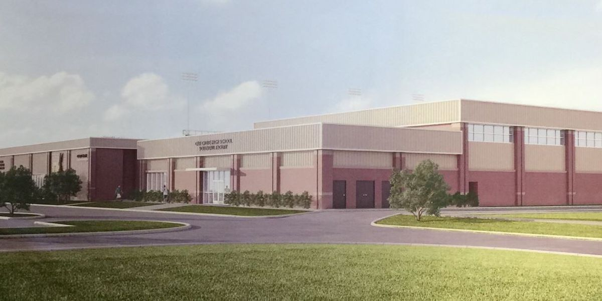 Oak Grove High School will soon have a volleyball facility