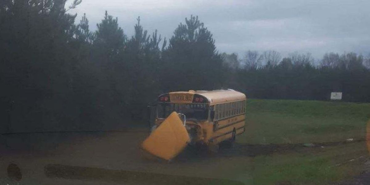 1 airlifted after crash involving school bus in Perry Co.
