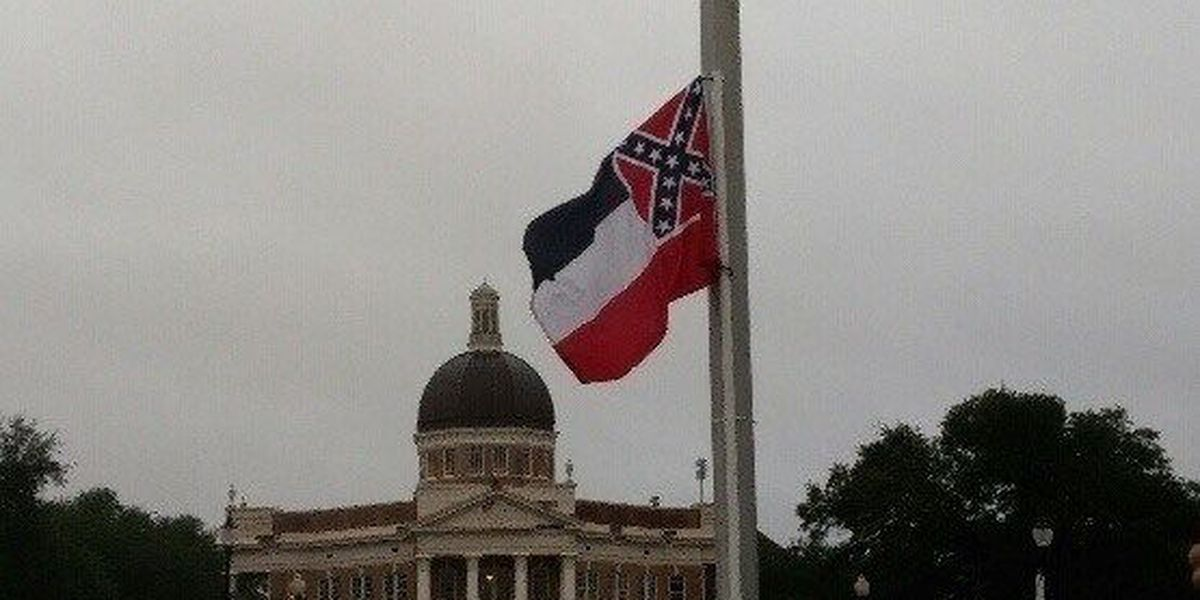 Group temporarily flies state flag again at USM