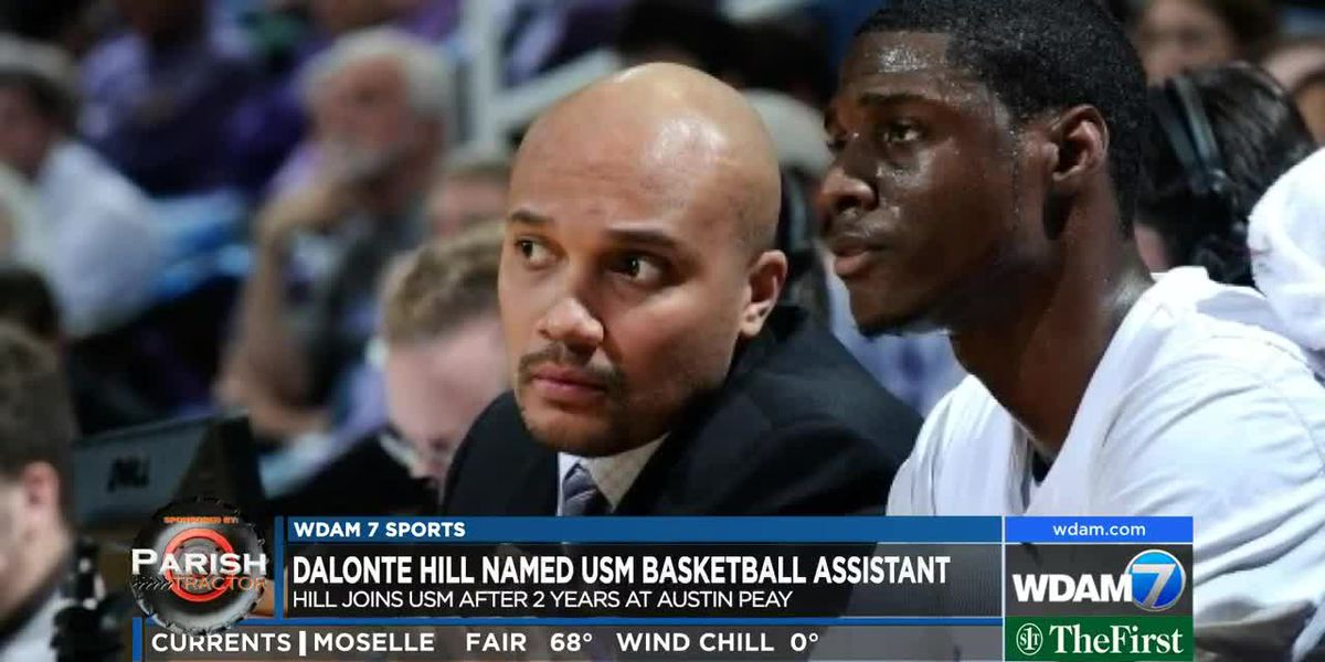 Dalonte Hill hired as USM basketball assistant