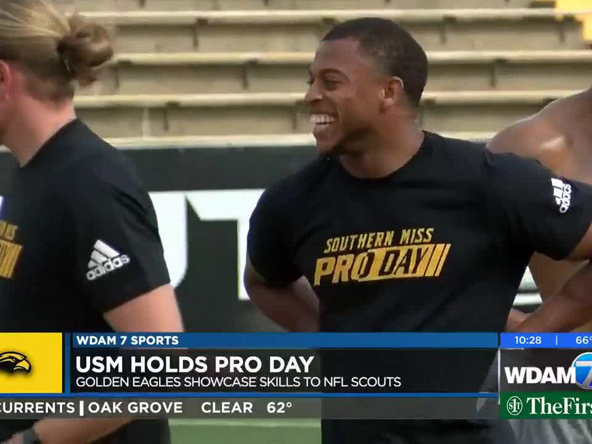 USM holds 2019 Pro Day