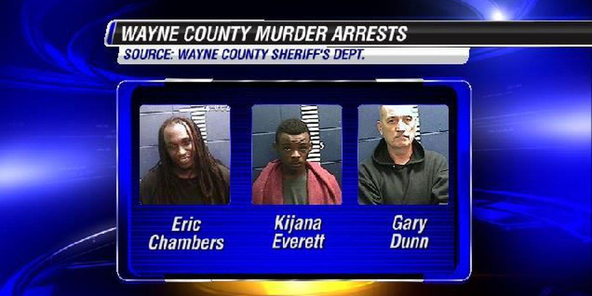 More arrests made in Wayne County murder case