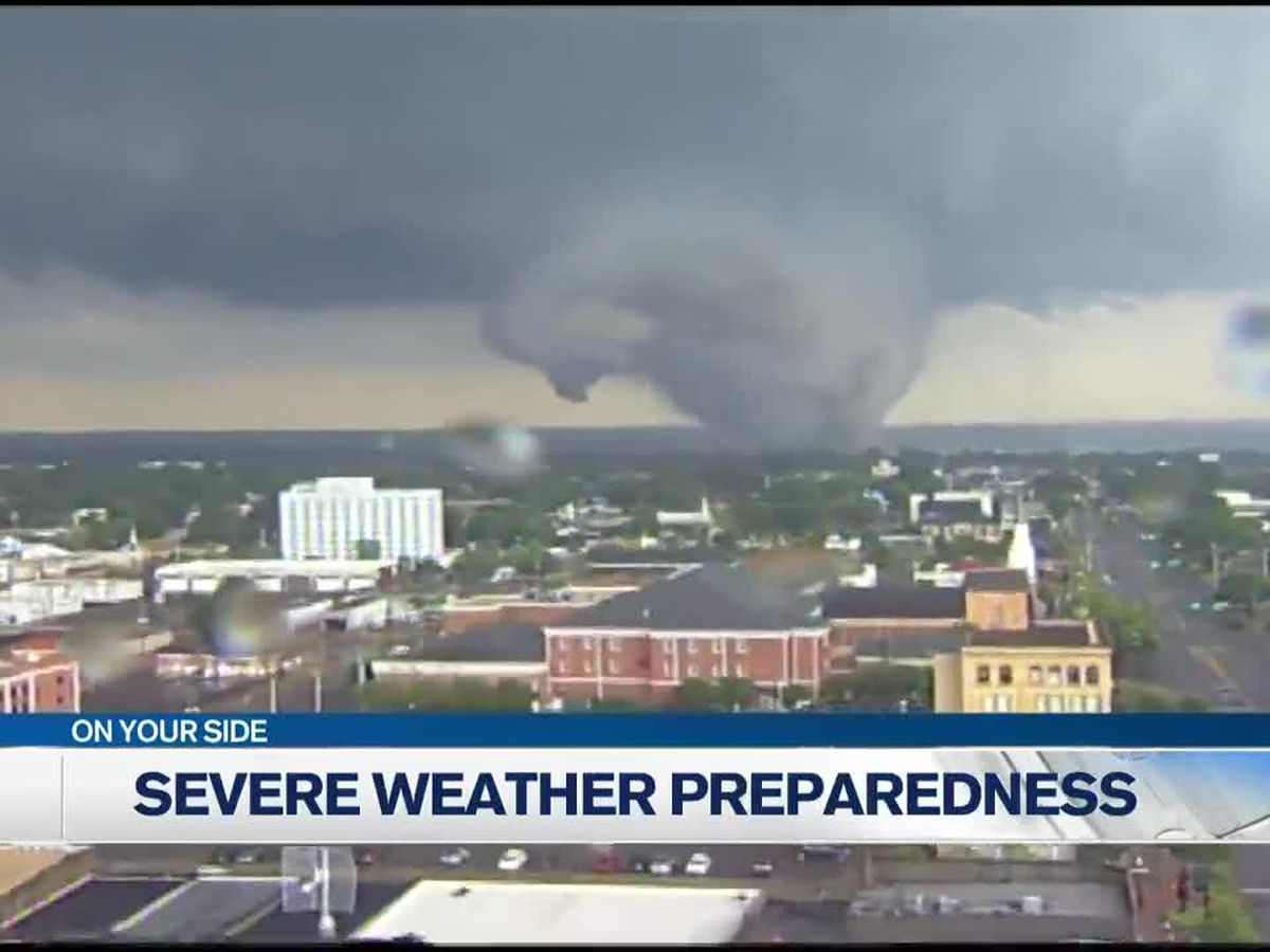 Governor declares spring severe weather preparedness week