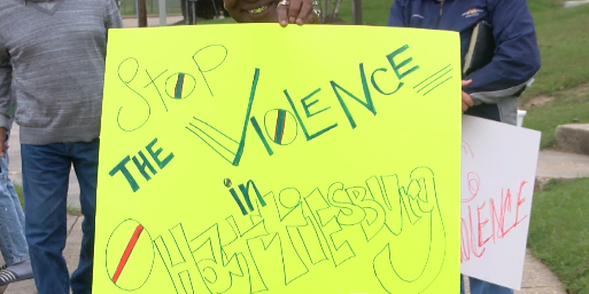 Stop the violence rally held in Hattiesburg
