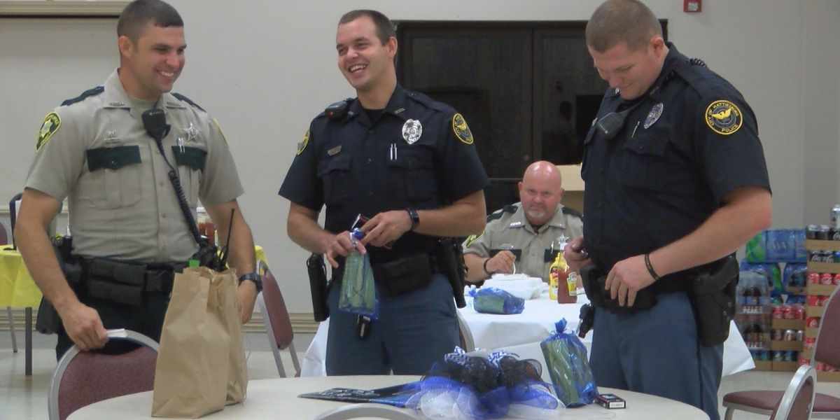 Hattiesburg Clinic shows law enforcement appreciation with dinner, gifts