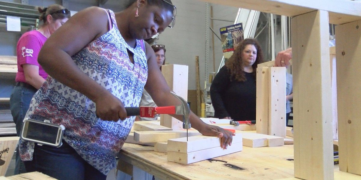 """How-to"" construction clinics for women"
