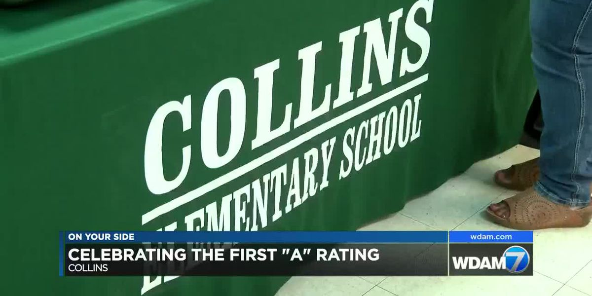 Collins Elementary celebrates A rating