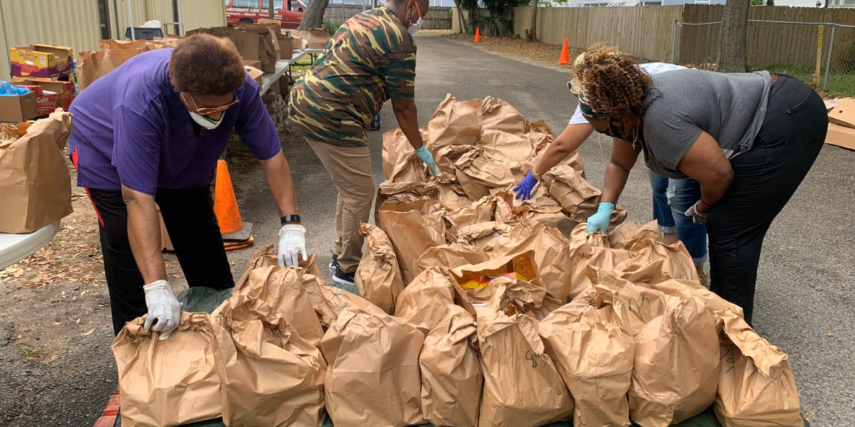 Biloxi church increases food giveaways to help residents during pandemic