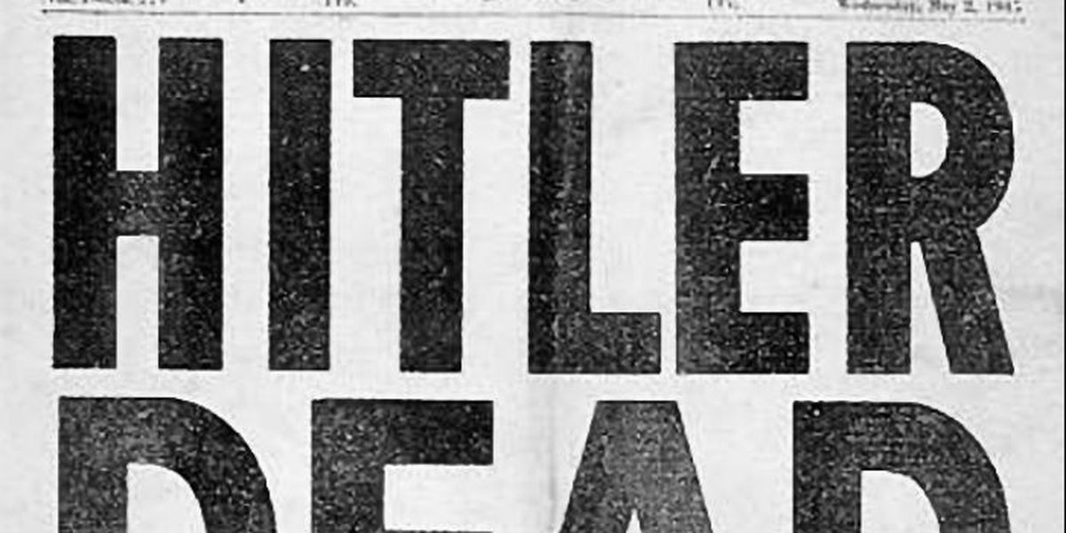 On this day in history - April 30th, 1945