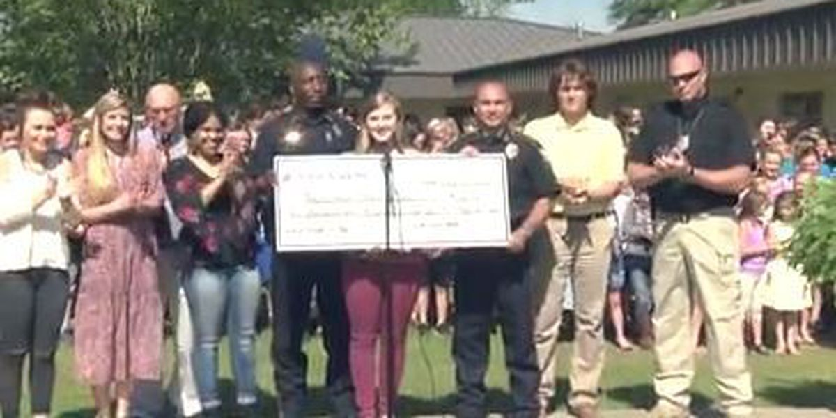 Wayne Academy students raise $5K for new police dog