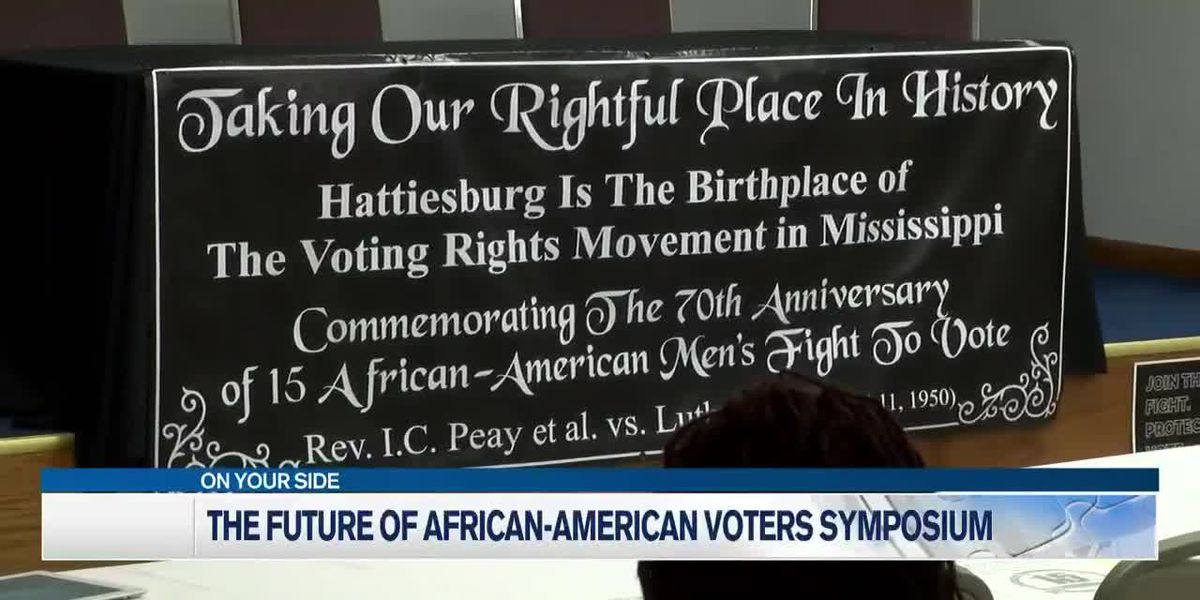 African-American voter symposium held in Hattiesburg