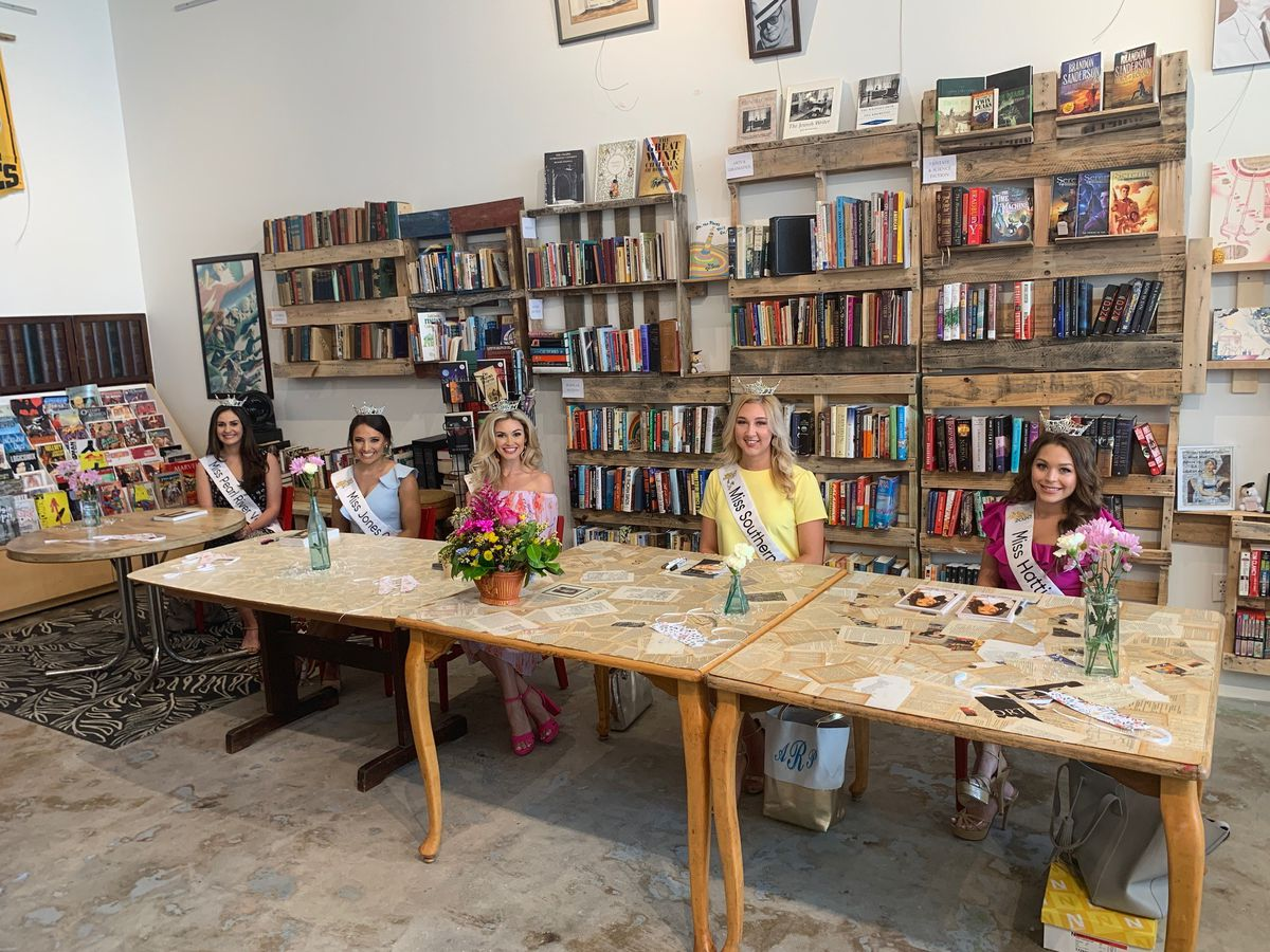 Local book store holds meet and greet with Miss Mississippi contestants