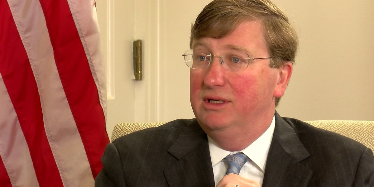 WATCH: One-on-one interview with Gov. Tate Reeves