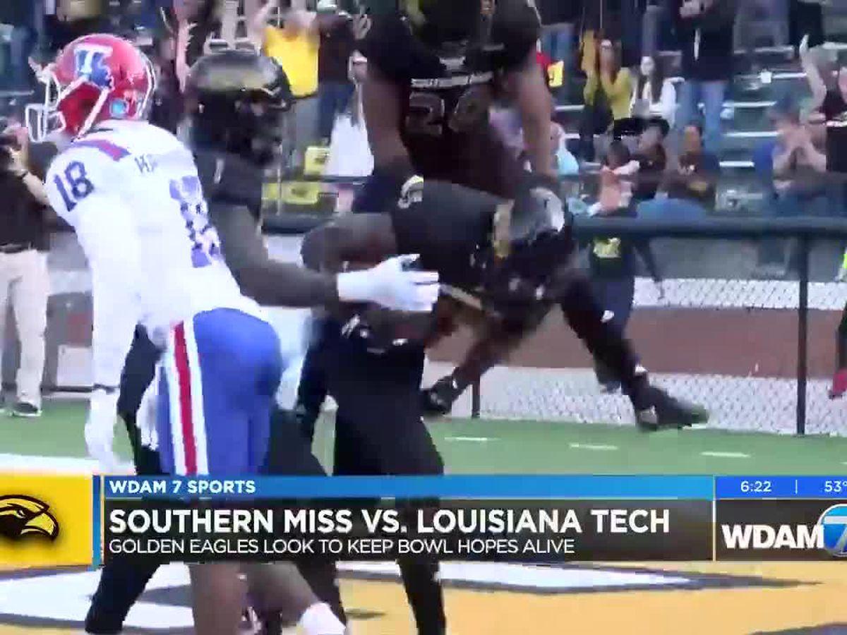 Southern Miss shocks La. Tech in 4th quarter