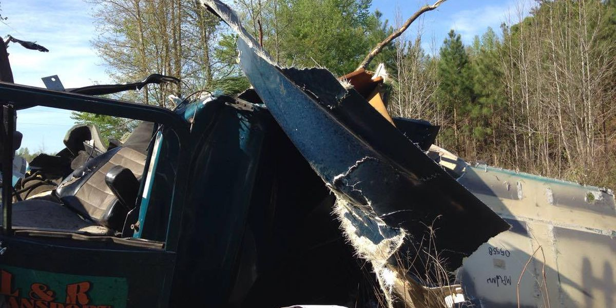 Marion County man walks away from serious accident unscathed