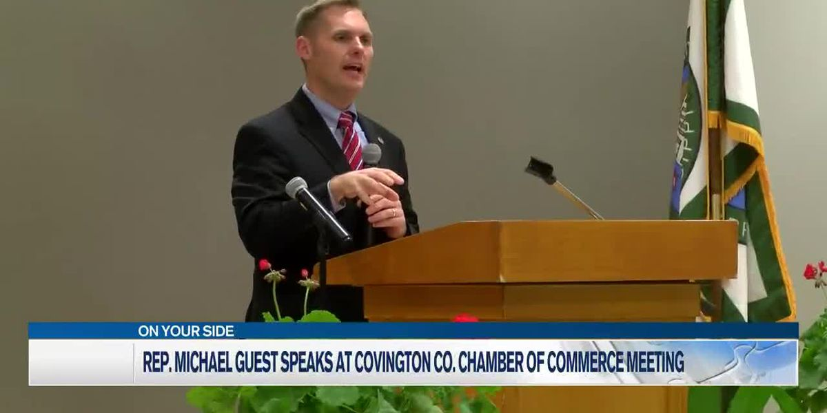 Rep. Guest speaks at Covington County Chamber meeting