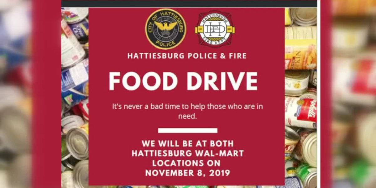 Midday Interview: Hattiesburg Police and Fire Food Drive