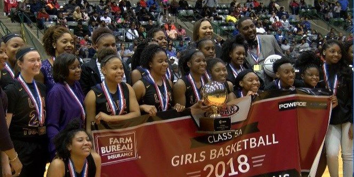 State Champions - Third time's the charm for Lady Tiger basketball