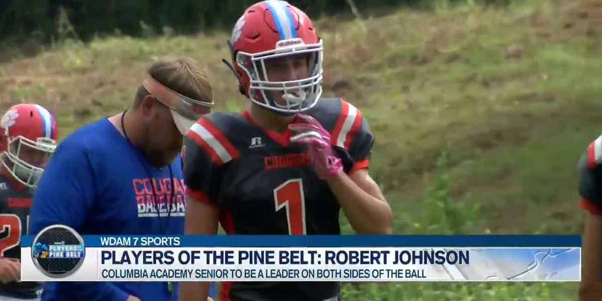 Players of the Pine Belt: Columbia Academy's Robert Johnson set to double down