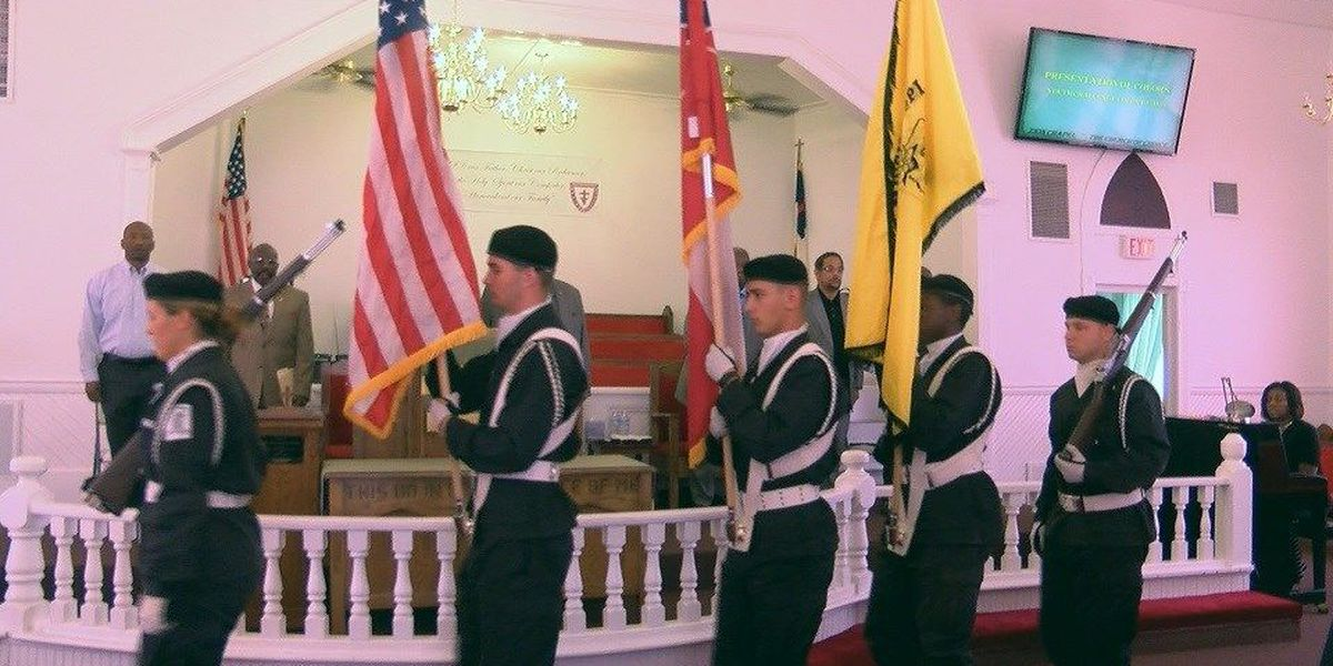 Zion Chapel AME Church hosts Memorial Day Weekend service