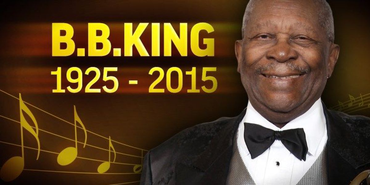 "Mississippi mourns loss of B.B. King, the ""King of the Blues"""