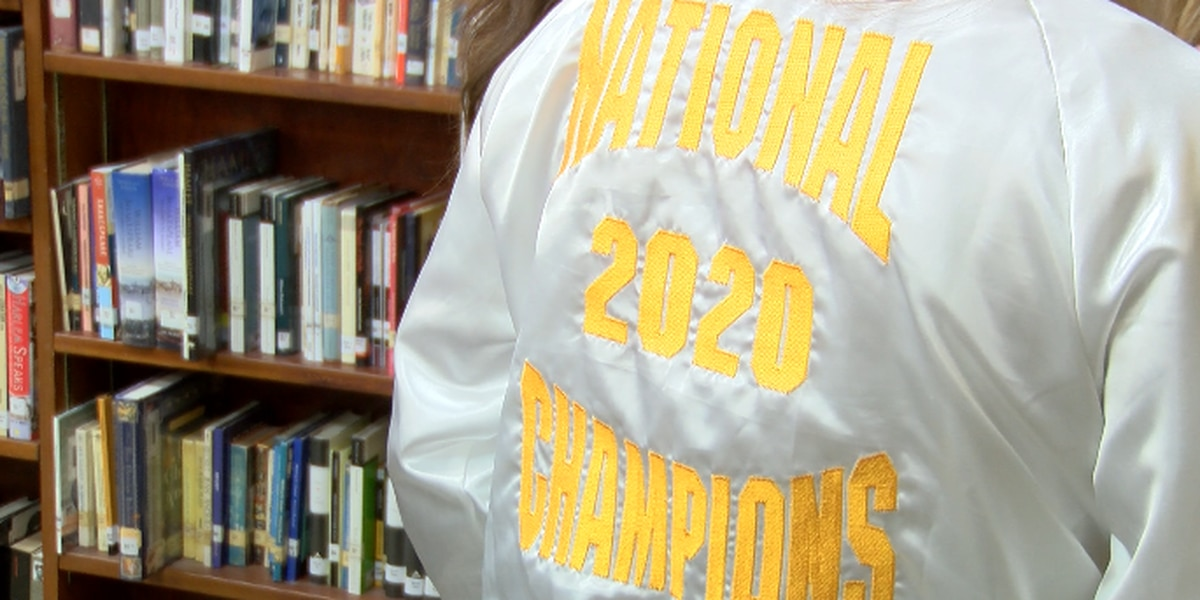 Purvis cheer team wins national championship