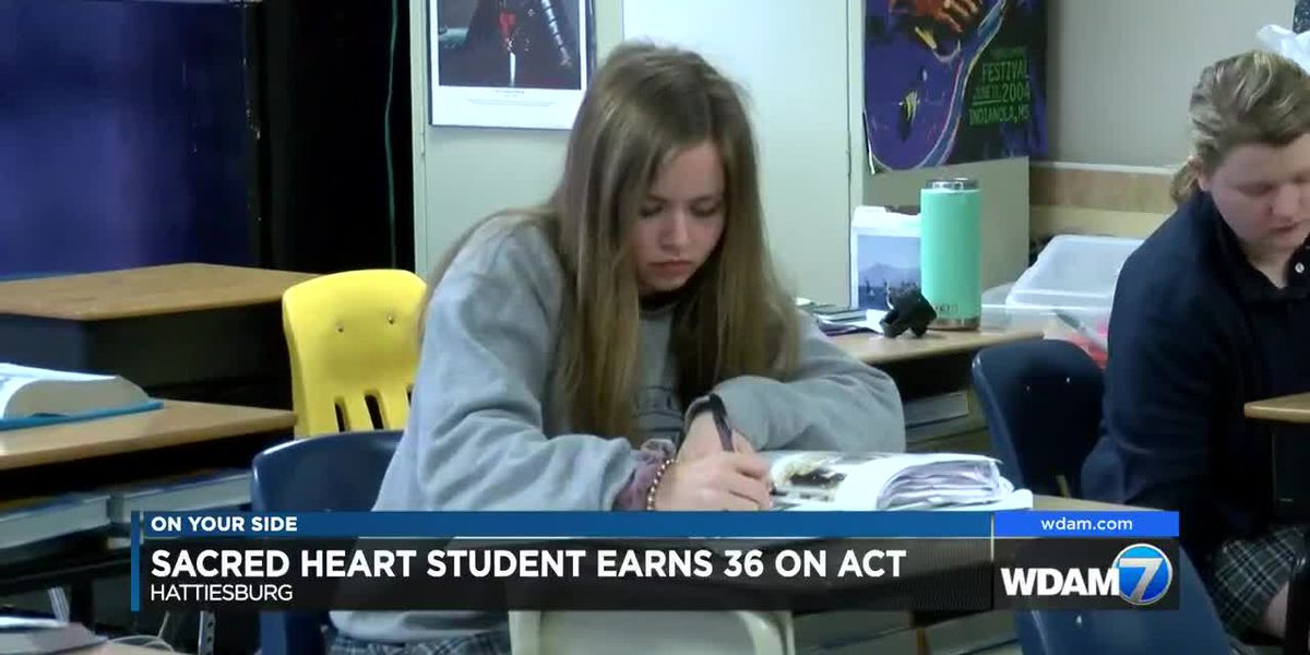 Sacred Heart junior earns perfect ACT score