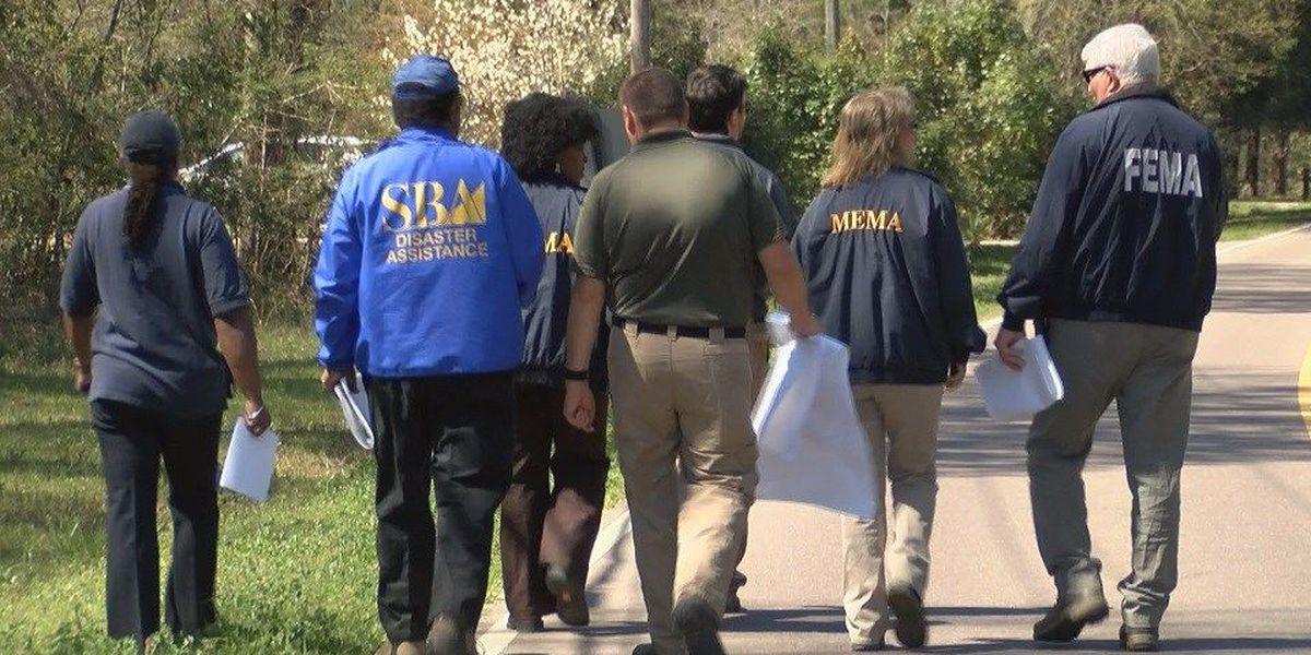 FEMA assessment in Forrest County