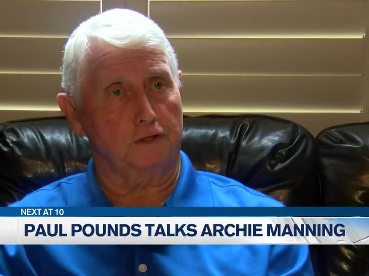 Paul Pounds talks coaching Archie Manning back in high school