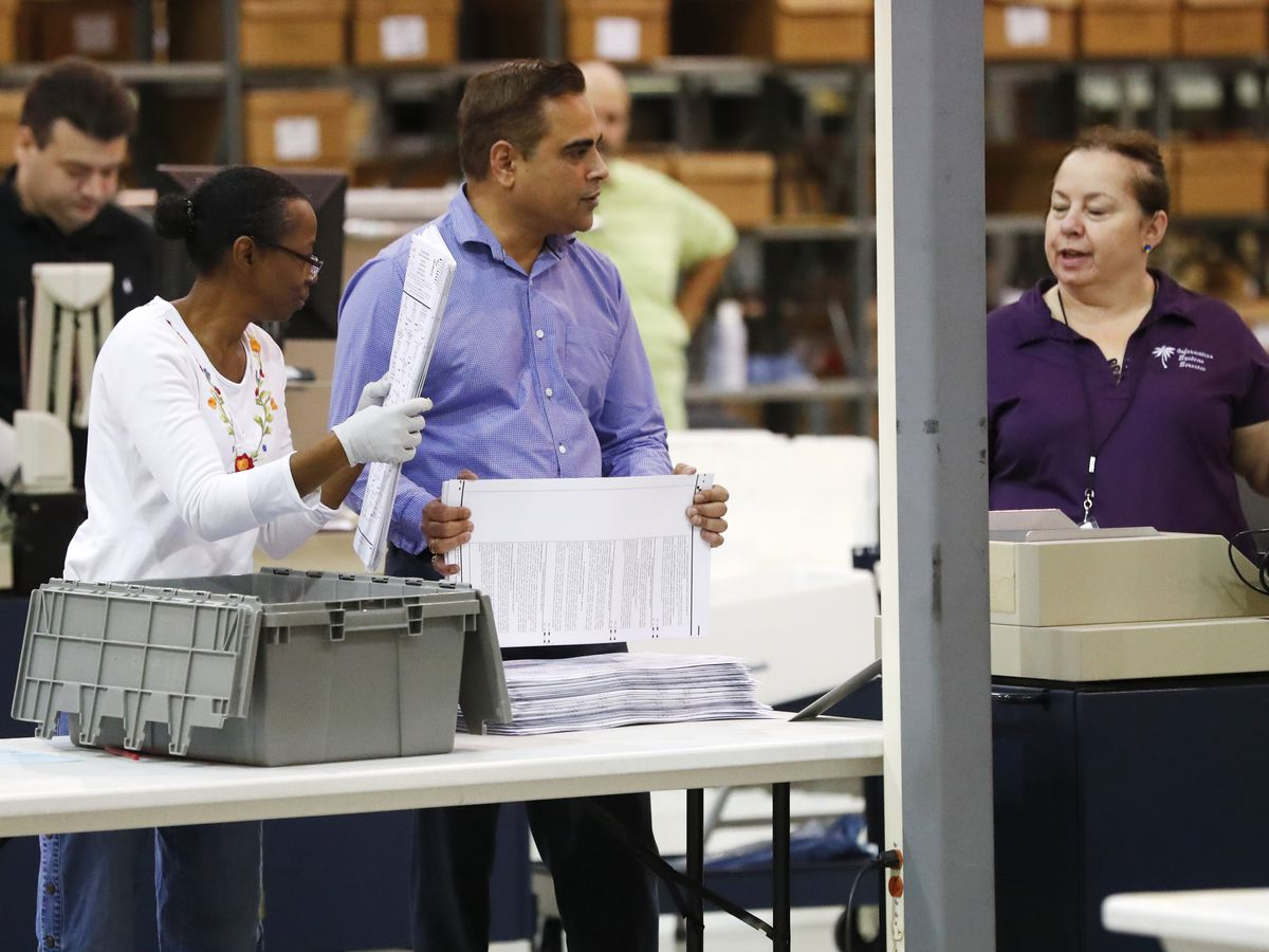 Florida's ongoing partisan battle over recount continues