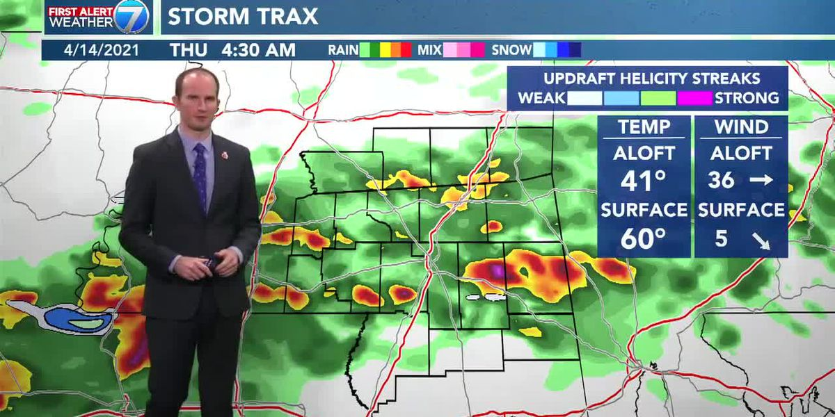 Rain expected overnight and into Thursday