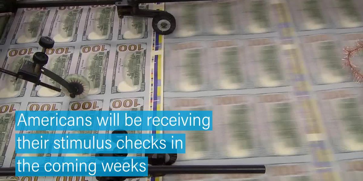 Stimulus money coming to Americans in weeks