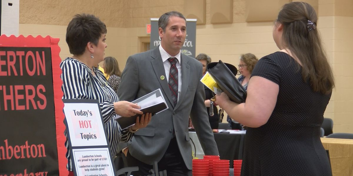 Lamar County School District puts on career fair