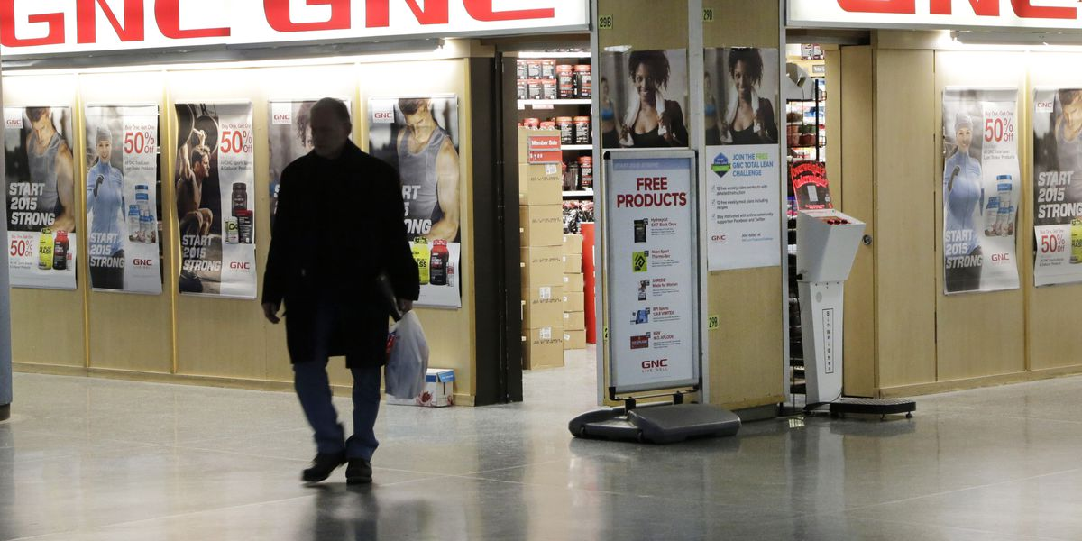 GNC plans to close 700 to 900 stores, mostly in malls