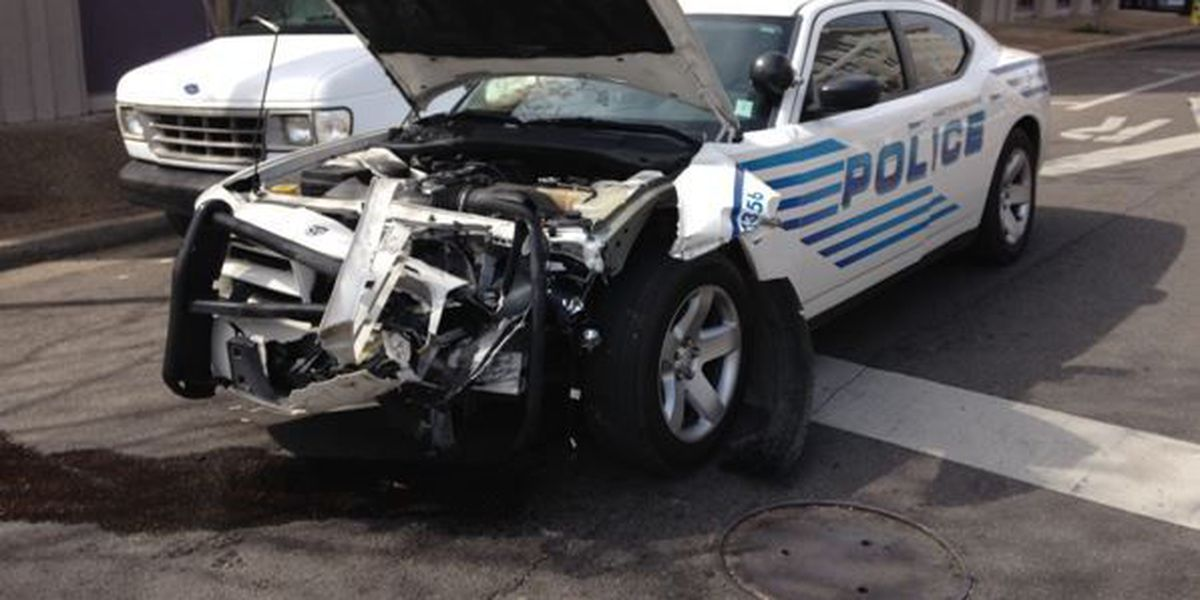 UPDATE: HPD officer involved in downtown accident