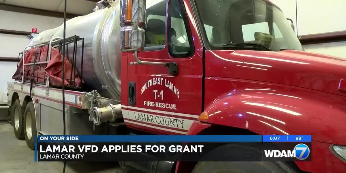 Lamar Co. volunteer fire departments apply for grant for new trucks