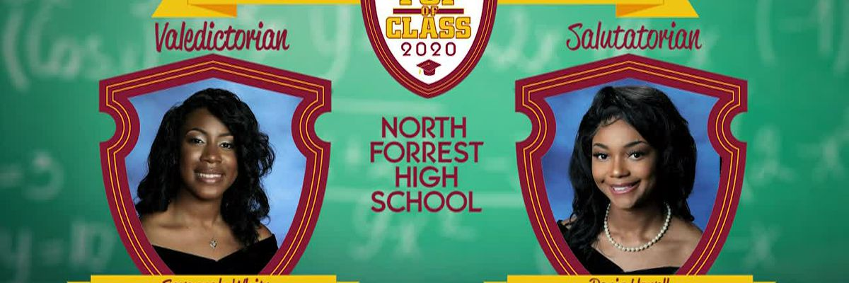 Top of Class: North Forrest High School and Stringer Attendance Center