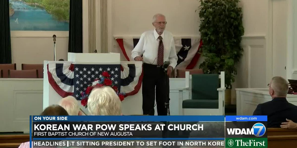 Korean War POW speaks at New Augusta church