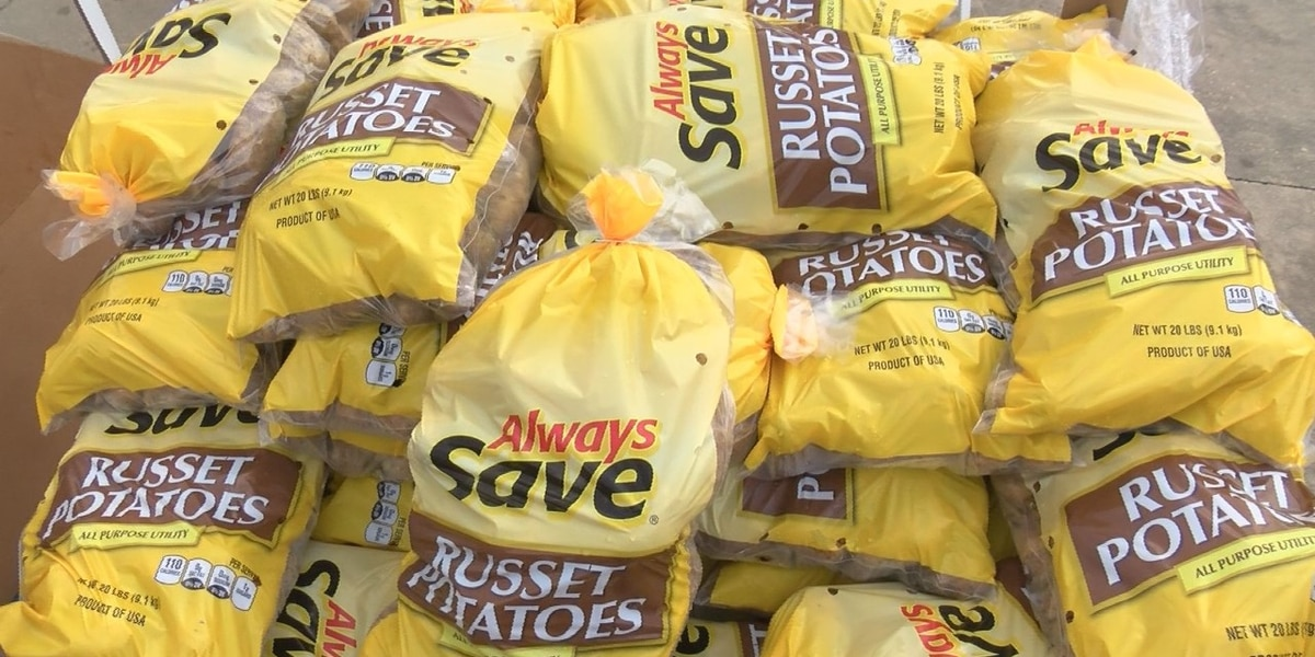 Christian Services offers free potatoes to the public