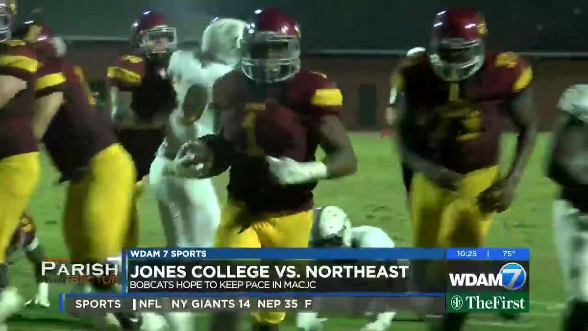 Jones College steamrolls Northeast MS, 35-3